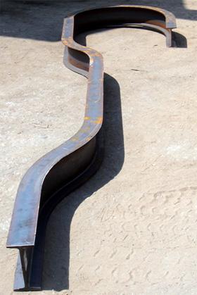 Pipe Tube Amp Steel Bar Bending Fabrication Clamp H Beam Rectangular Tube Plate